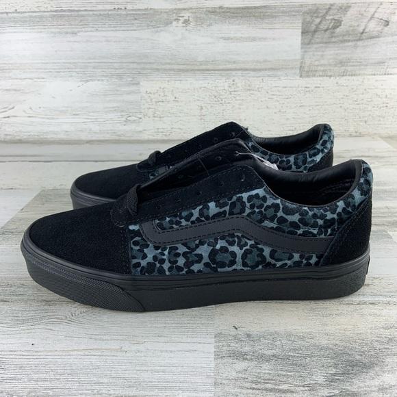 Vans Ward Cozy Suede Animal Print Shoes